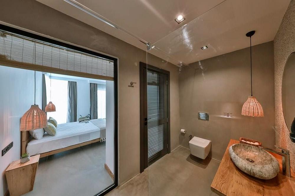 Двухместный номер 40 м² с&nbsp;видом на&nbsp;море в&nbsp;Carruba Boutique Hotel за&nbsp;8000&nbsp;<span class=ruble>Р</span>. Фото: «Букинг»
