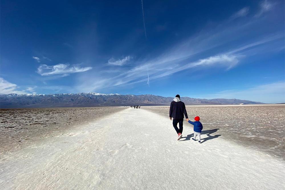 Фото из поездки по США, это соляные озера