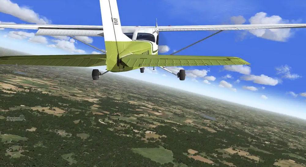 В Microsoft Flight Simulator есть курс, аналогичный обычному курсу пилотов