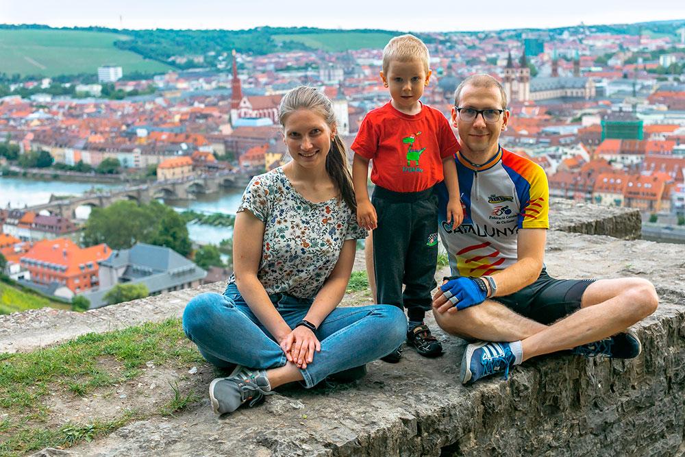 Мы с семьей переехали в Вюрцбург в мае 2019 года