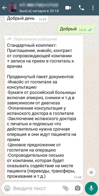 На следующий день прислали подробные условия. Всего надо заплатить около 140тысяч рублей по курсу на момент написания статьи. В сумме выходит несколько больше 3200 Р из ценника на сайте