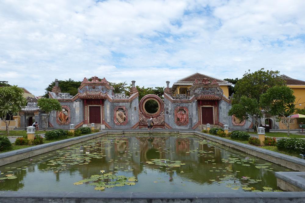 Такую архитектуру можно увидеть в городе-музее Хойан