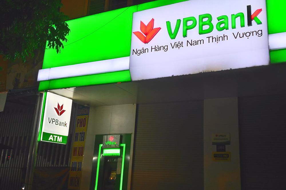 Банкомат VPBank, где тоже можно снять деньги без комиссии