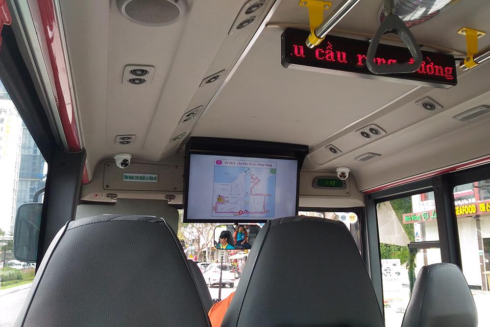 Так выглядят городские автобусы внутри