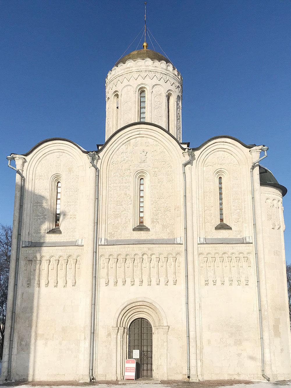 Дмитриевский собор построен в1197году