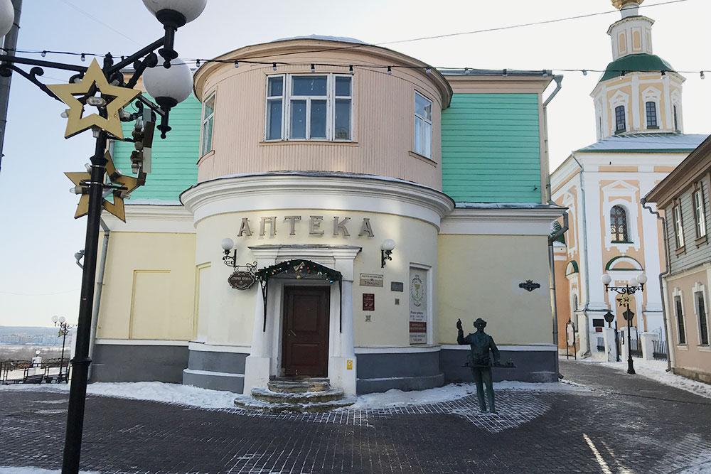 Первая аптека работала воВладимире с1805 по2008год