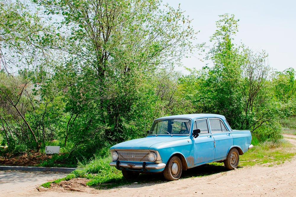 В Волгограде у многих отечественные автомобили, иногда можно встретить даже такие
