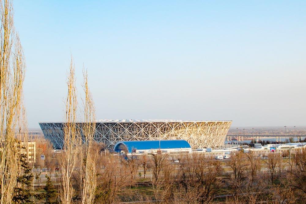 Стадион «Волгоград-Арена», где играет «Ротор» и выступают приезжие артисты