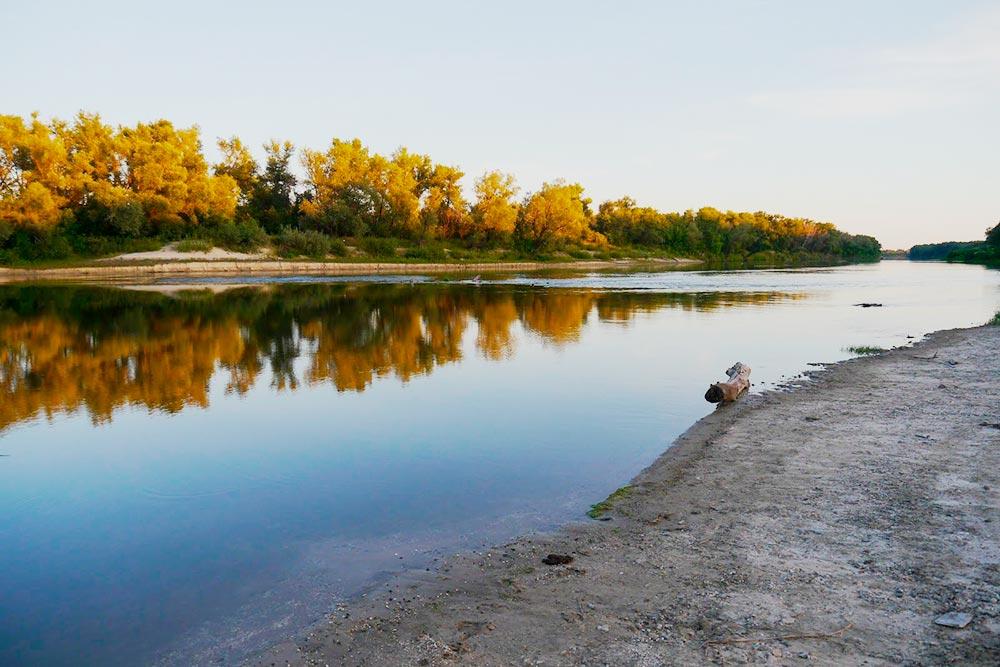 Нижнехоперский природный парк называется так в честь реки Хопер, на которой он расположен. Фото Дарьи Чирковой
