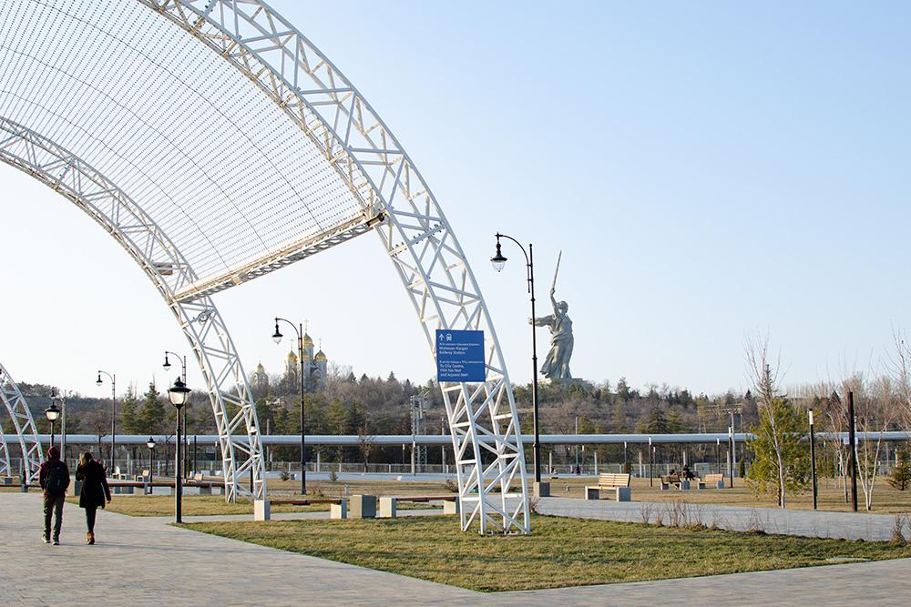 Парк Победы открылся пару лет назад истал вторым вВолгограде парком стаким названием. Первый находится нацентральной набережной