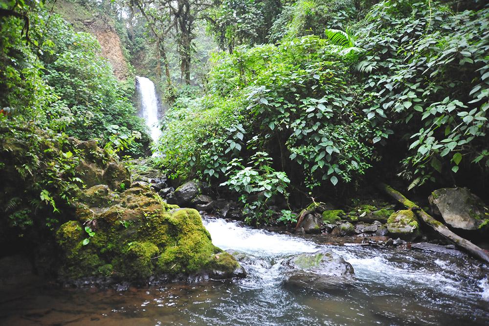 Гордость парка Ла-Пас — водопады