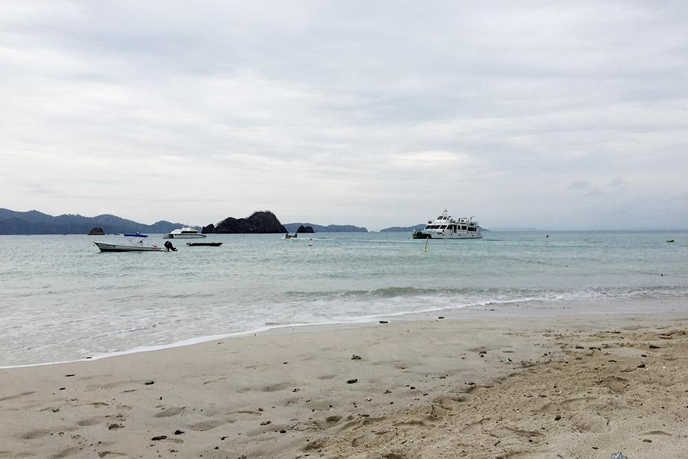 Вид с острова Тортуга