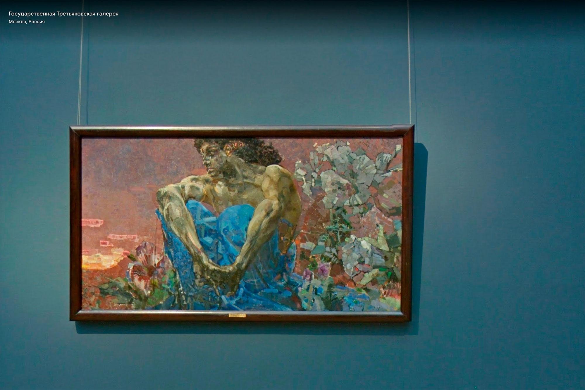 Расположение каждой картины онлайн-коллекции в галерее можно увидеть с помощью функции «просмотр улиц»