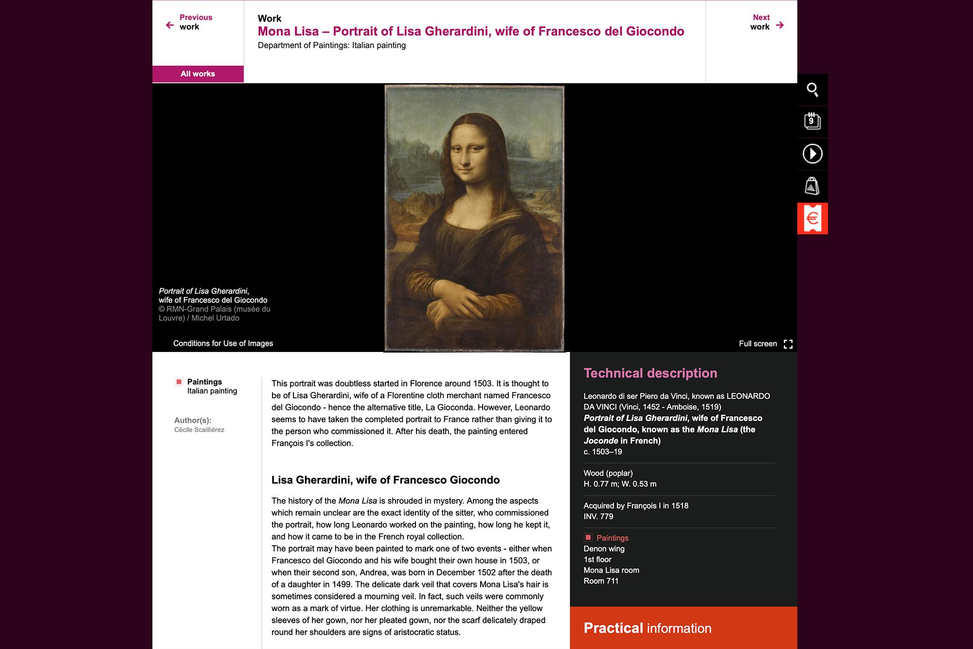«Мону Лизу» Леонардо да Винчи уже похищали, поэтому теперь она хранится в Лувре засверхпрочным бронированным стеклом