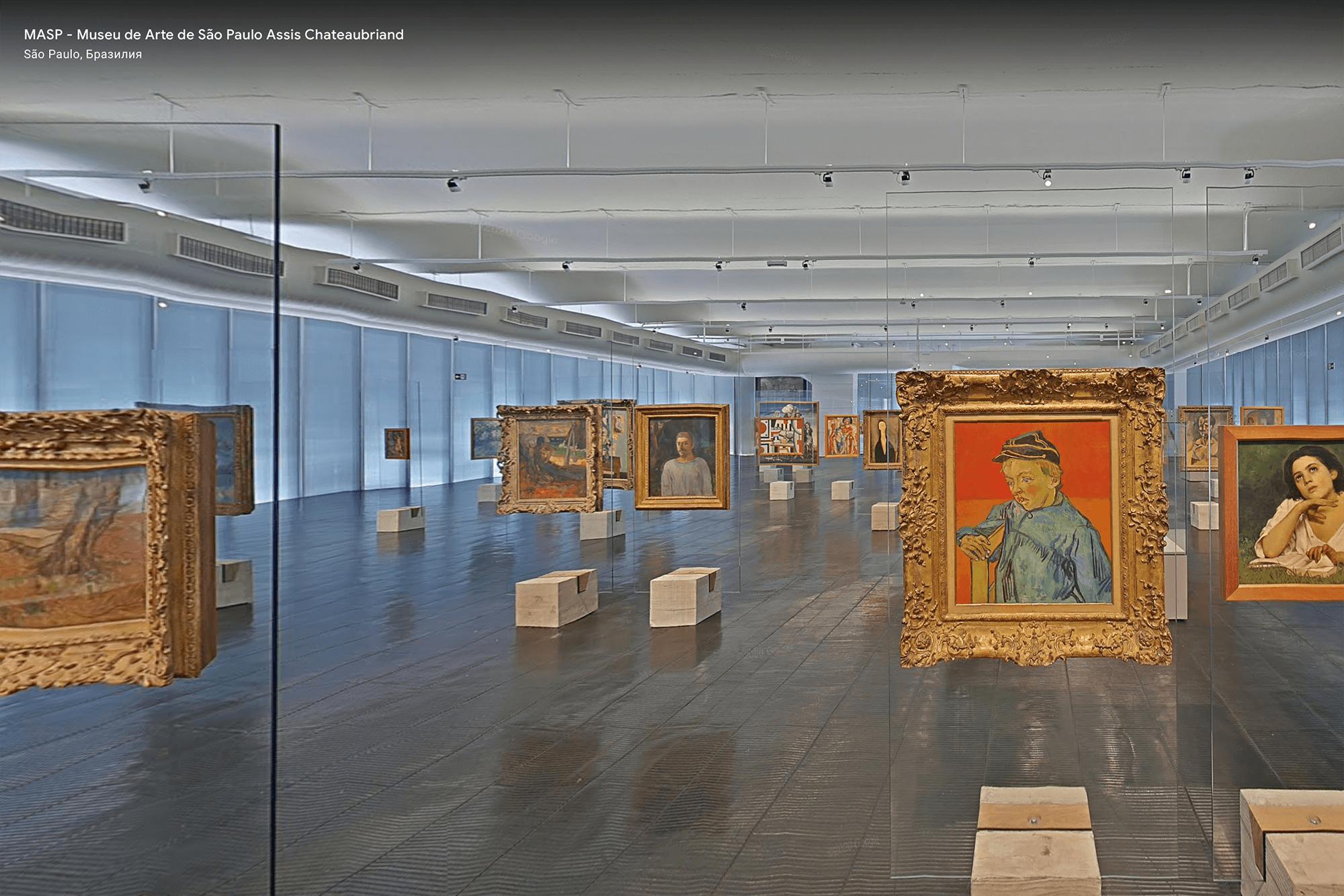 Одна из самых популярных картин музея — «Школьник» Винсента Ван Гога