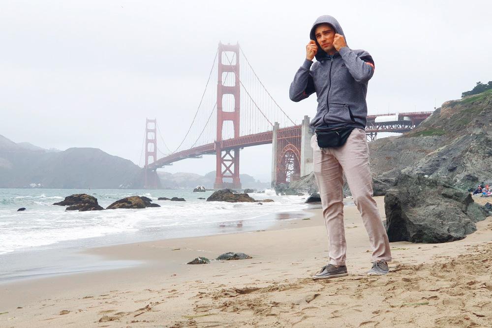 Погода в Сан-Франциско сильно отличалась от погоды в Лос-Анджелесе — о купании не хотелось даже думать