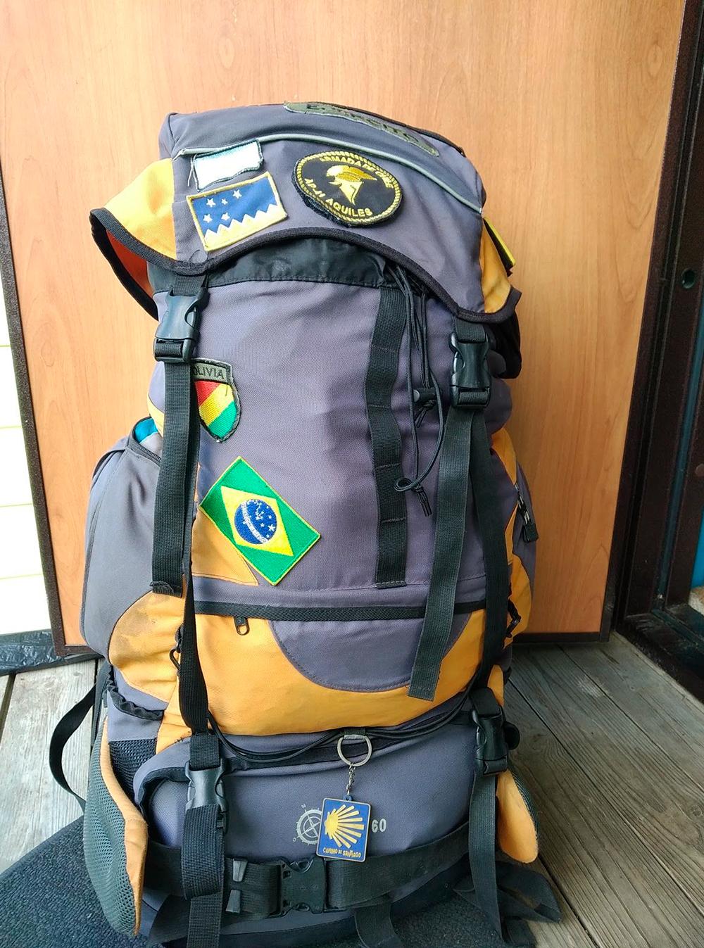 В этом рюкзаке я таскал ноут по всей Южной и Центральной Америке, и он выжил