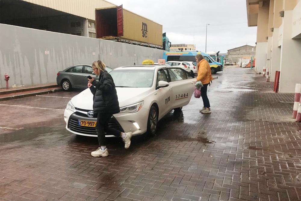 Так выглядит такси в Эйлате