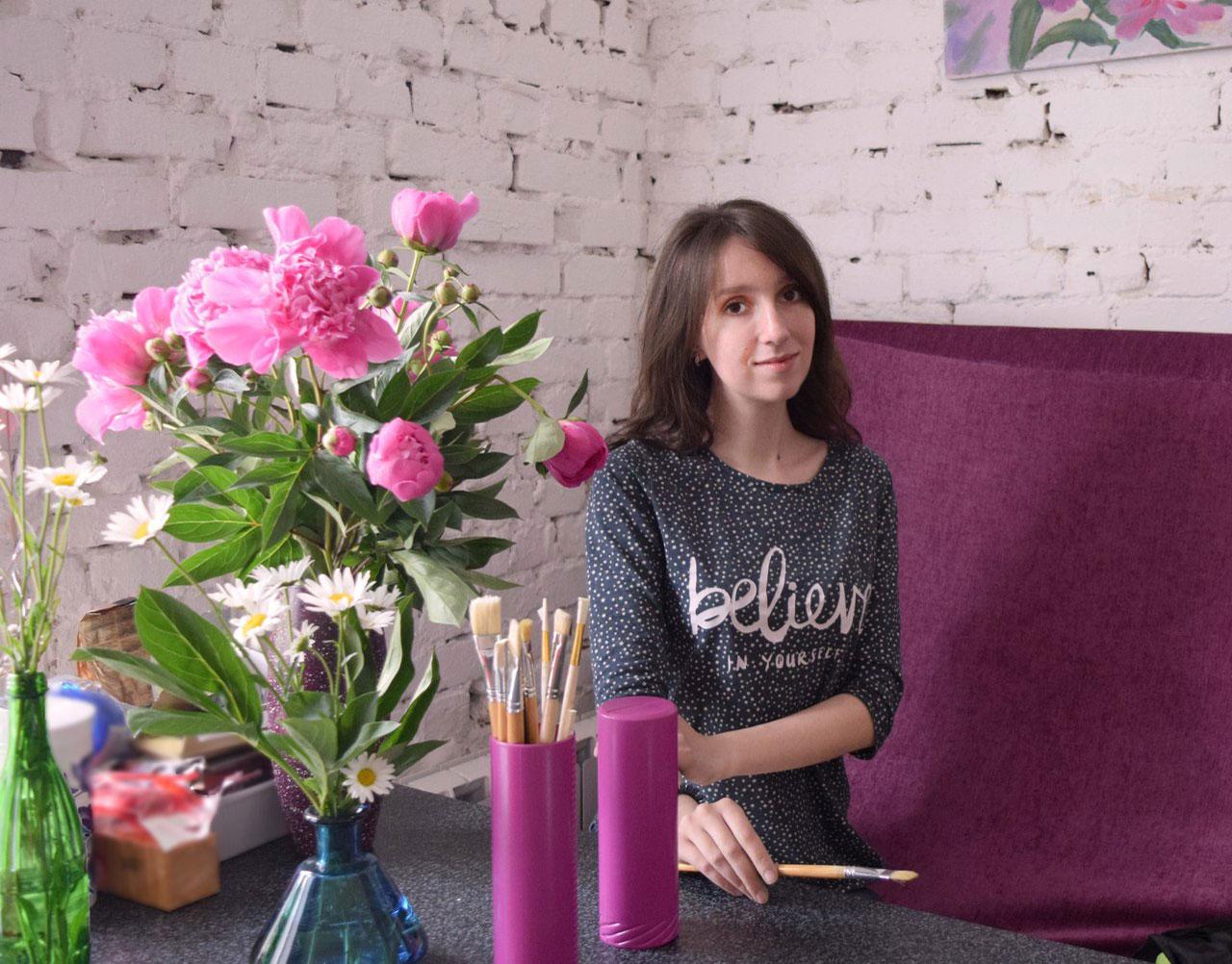 Настя открыла студию «Лампа» в Воронеже в 2016 году