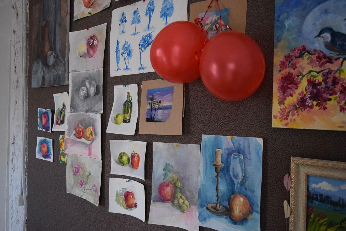 Работы участников детского мастер-класса