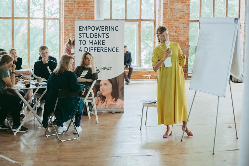 Теперь я куратор стартапов в Impact Hub Moscow и помогаю начинающим предпринимателям