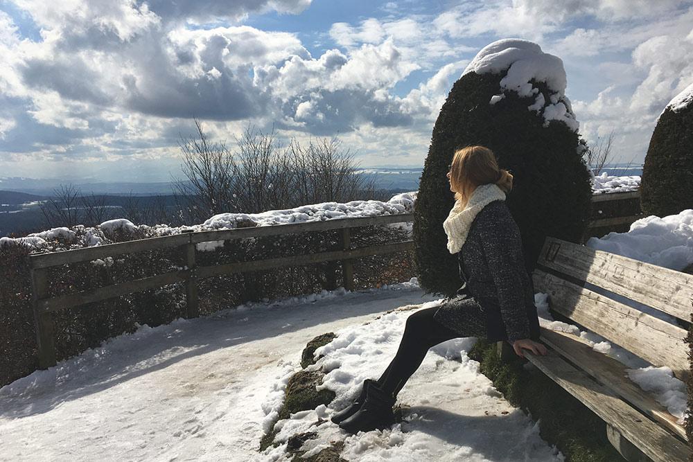 Зима вЦюрихе нехолодная, всреднем +8 °С. Вгороде снега может небыть, авот наУтлиберге всегда снежно икрасиво